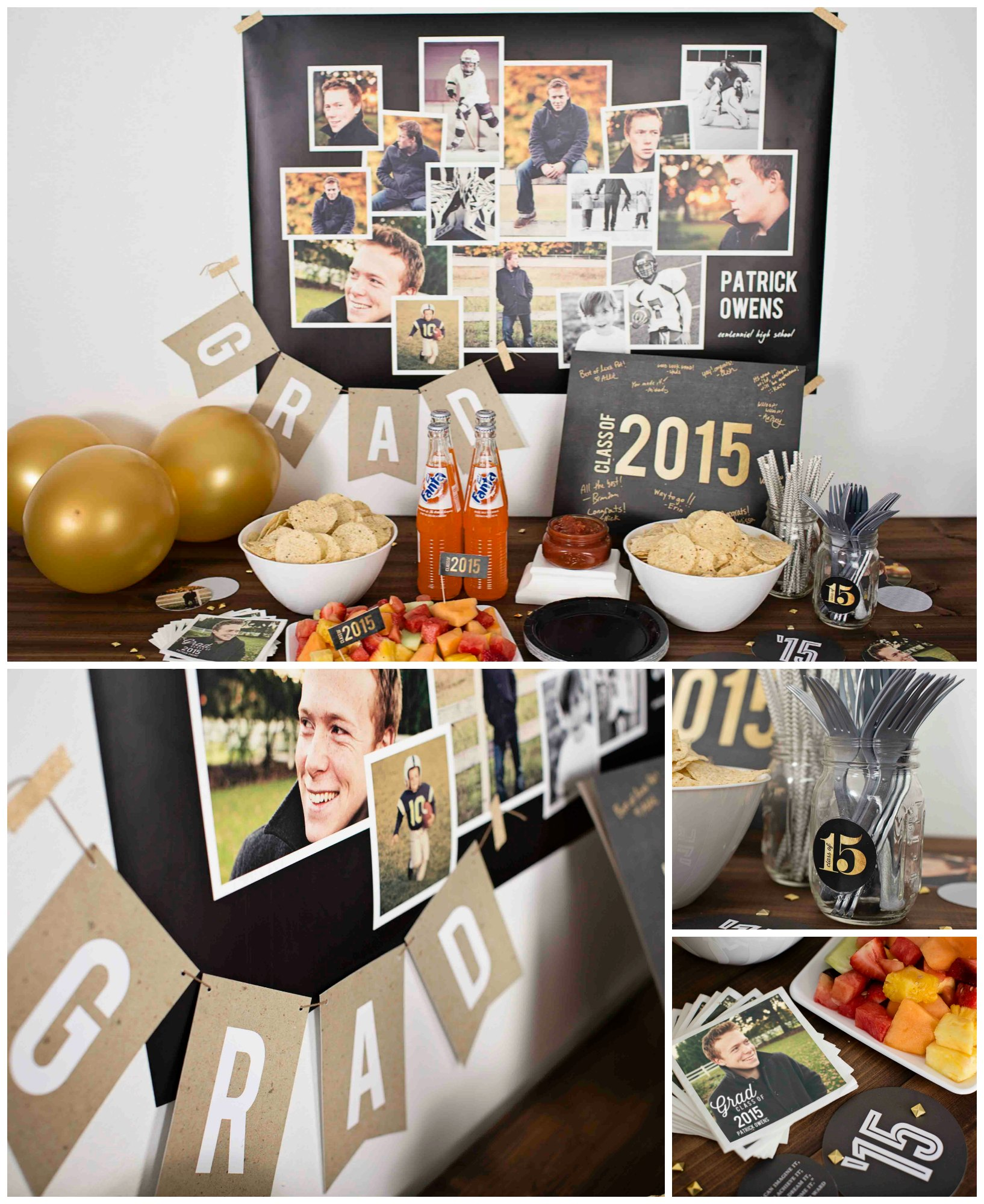 classic graduation party ideas | pear tree blog