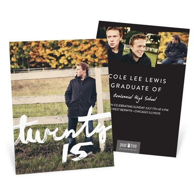 Multi Photo Graduation Announcements