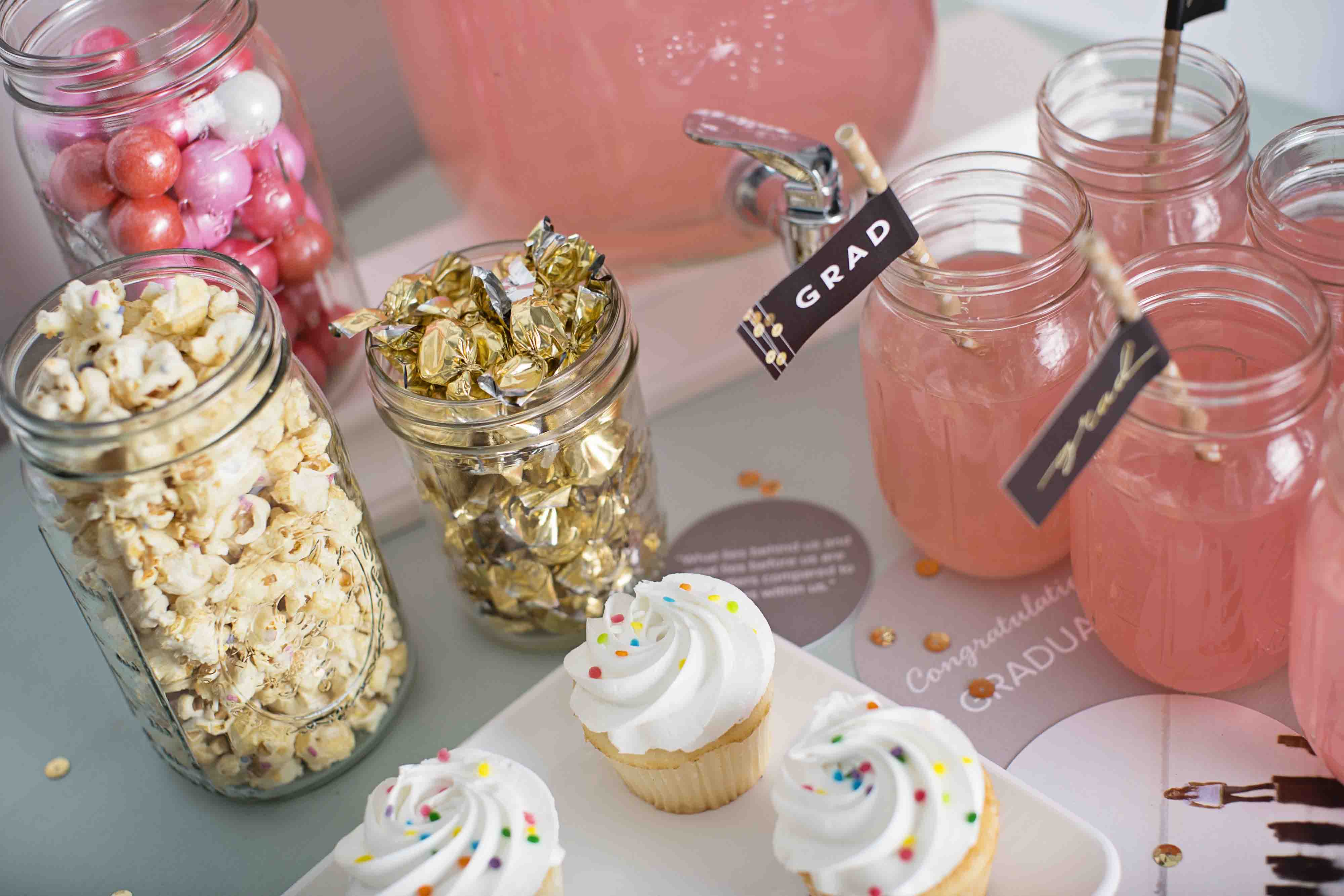 Sequin Inspired Graduation Party Ideas