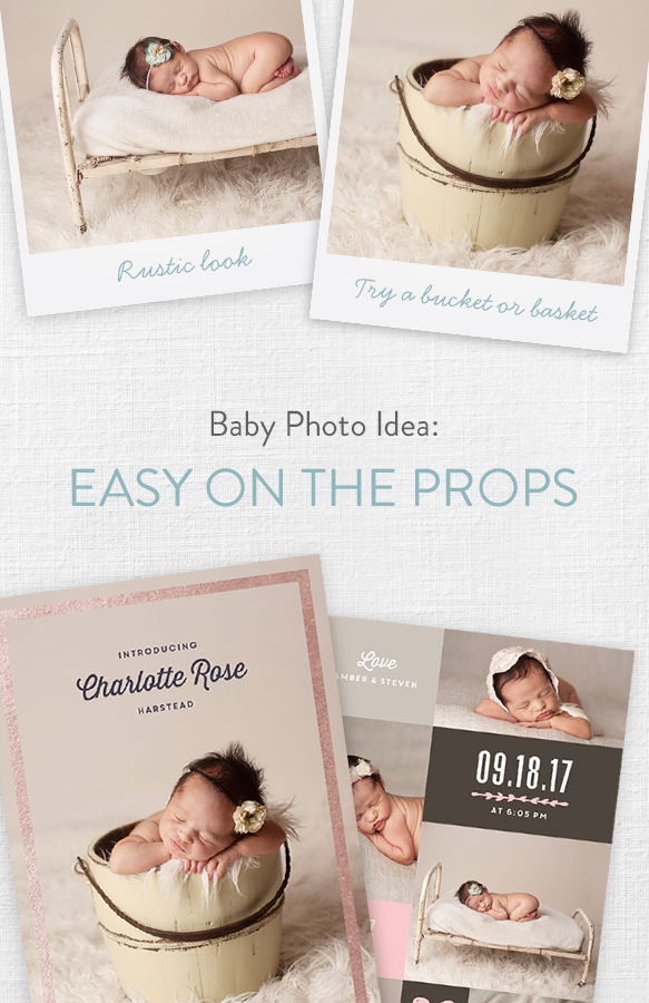 Top 4 Baby Photo Ideas – Baby Girl Announcement Ideas