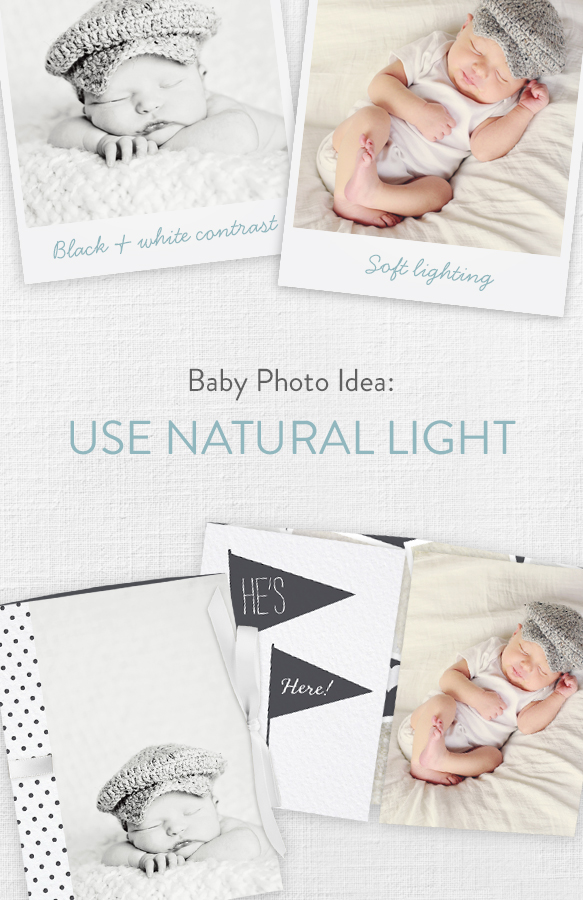 Wave the Flags Ribbon Booklet Baby Boy Announcements