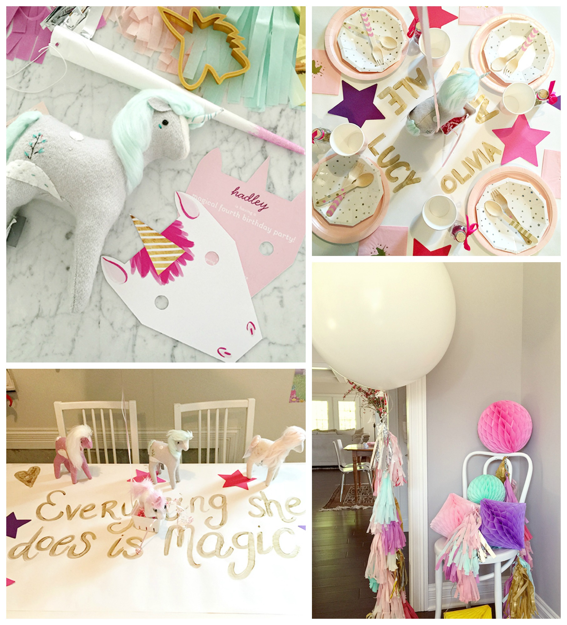 Featured Favorite: Girls Birthday Party Ideas | Pear Tree Blog