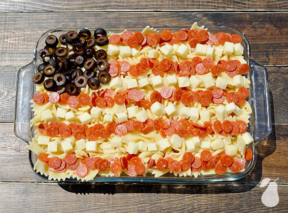 4th of July food ideas pasta salad