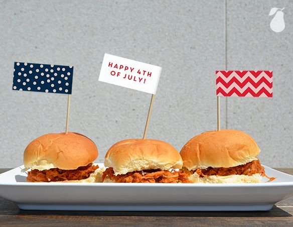 4th of July food ideas pulled pork