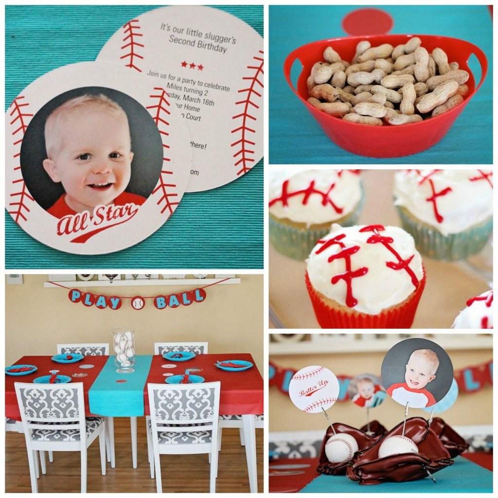 Baseball party ideas for boys