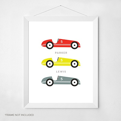 Go Carts Wall Art