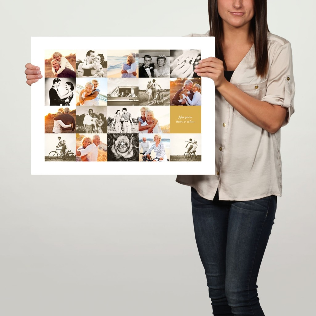 Memory Collage custom poster