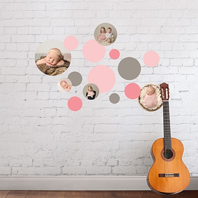 Wall Decor Ideas Circles Everywhere Wall Decals