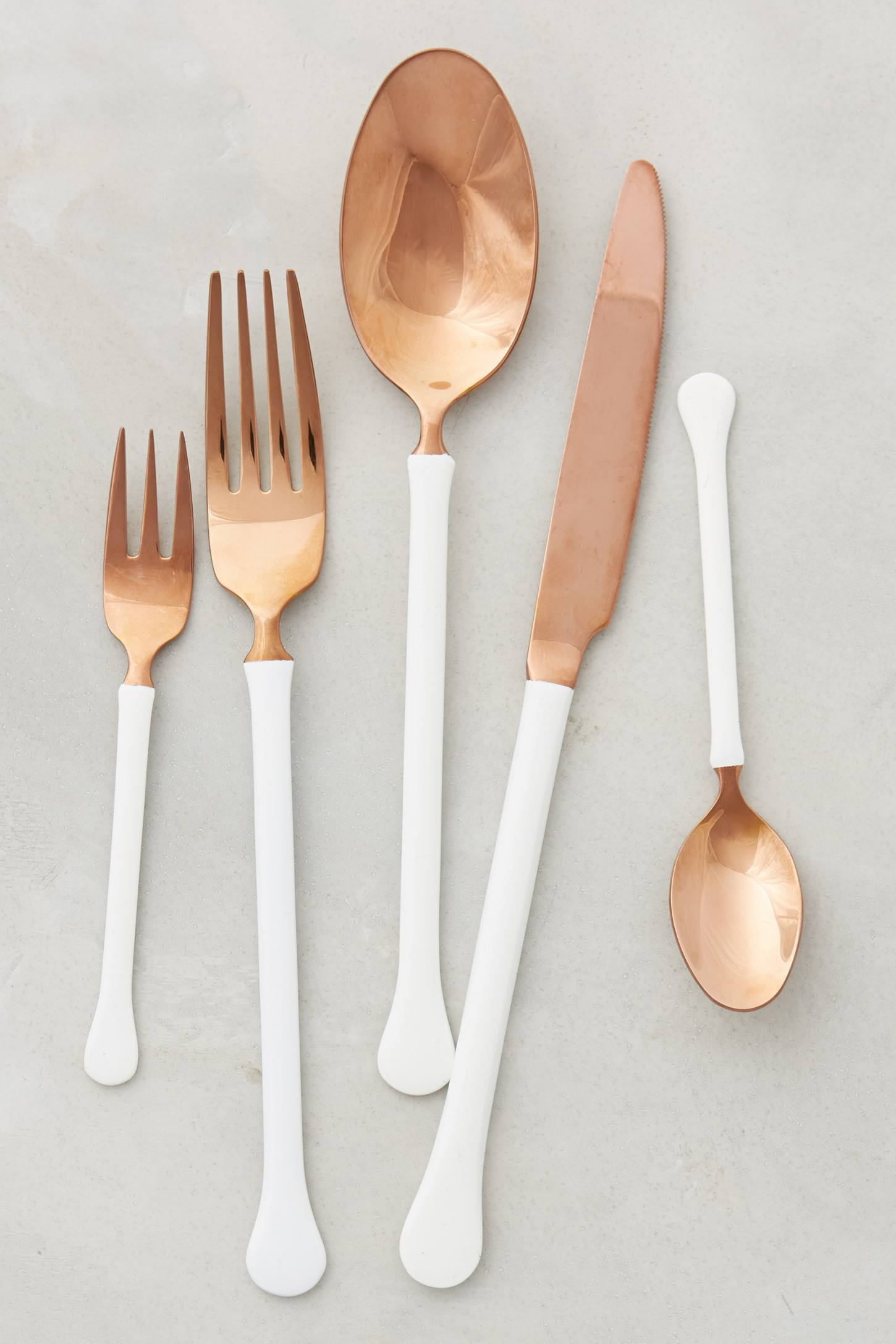 Copper Top Flatware from Anthropologie