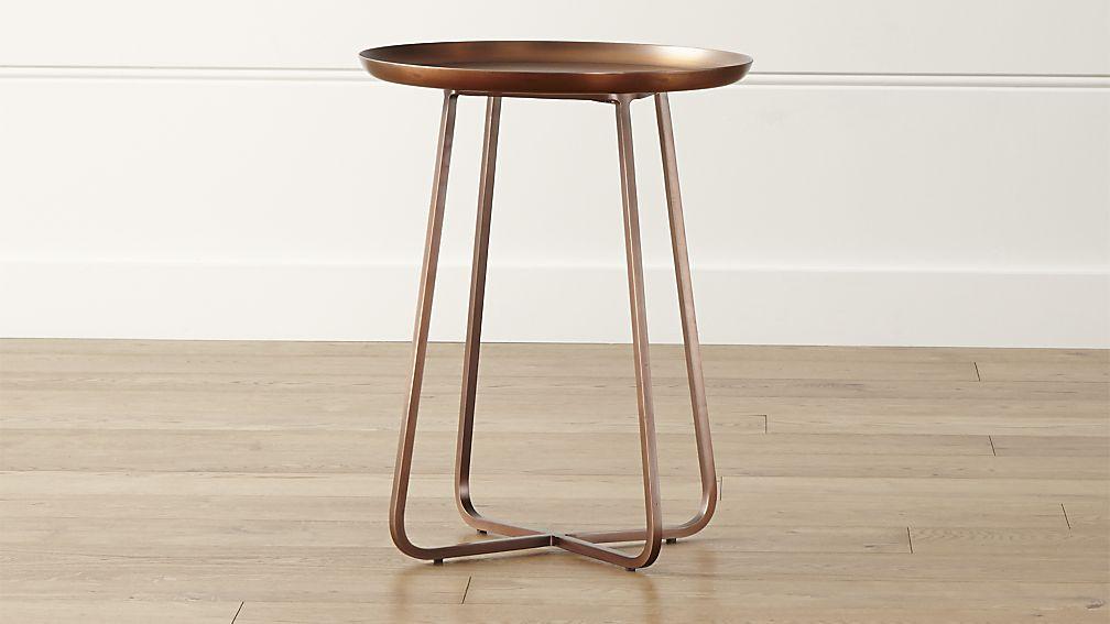 Crate And Barrel Copper Part - 17: penelope-table-crateandbarrel