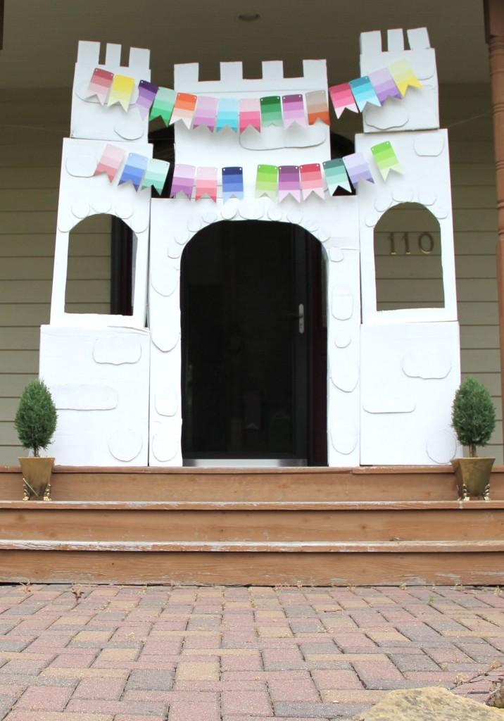 princess party ideas_castle entrance