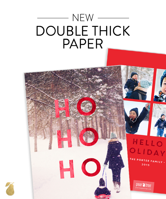 Double Thick Premium Christmas Cards