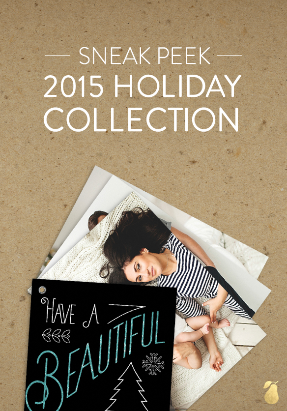 Sneak Peek! 2015 Holiday Collection