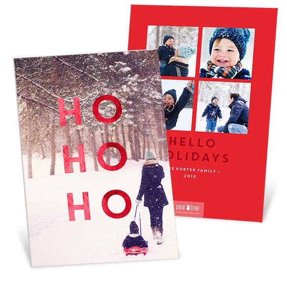 Ho Ho Ho Premium Christmas Cards