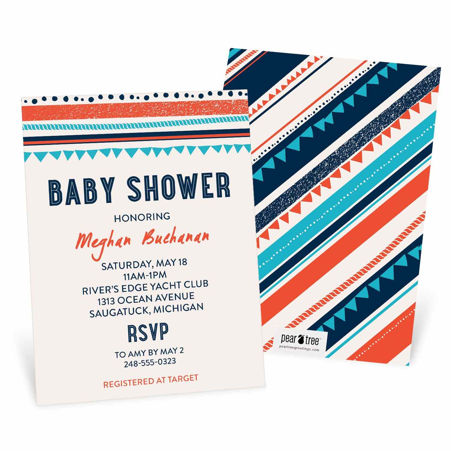 Flag_Border_Baby_Shower_Invitations