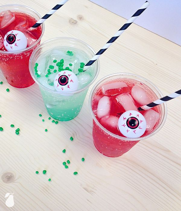 Deadly Drinks are the spookiest & tastiest drink option for your Halloween party. See more spooky food ideas!