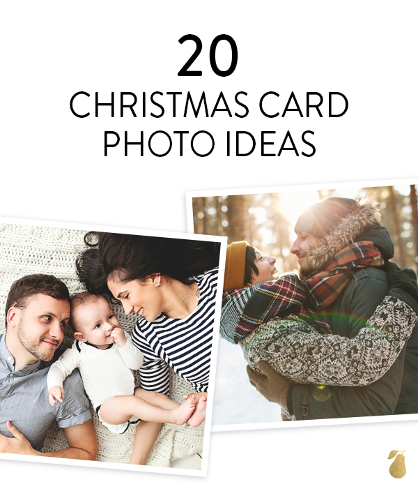 weve gathered 20 different family photo ideas that will fill your christmas card with