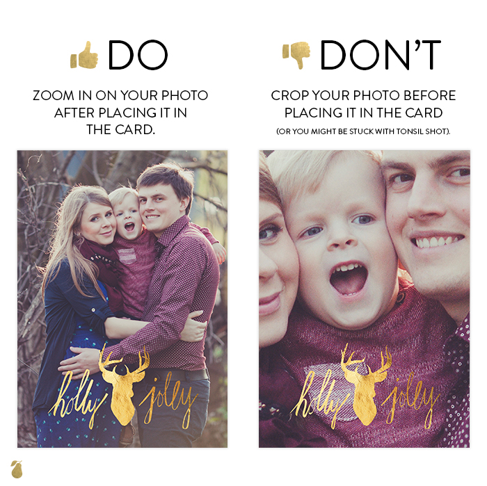 Dos and Don'ts of Christmas Cards #3