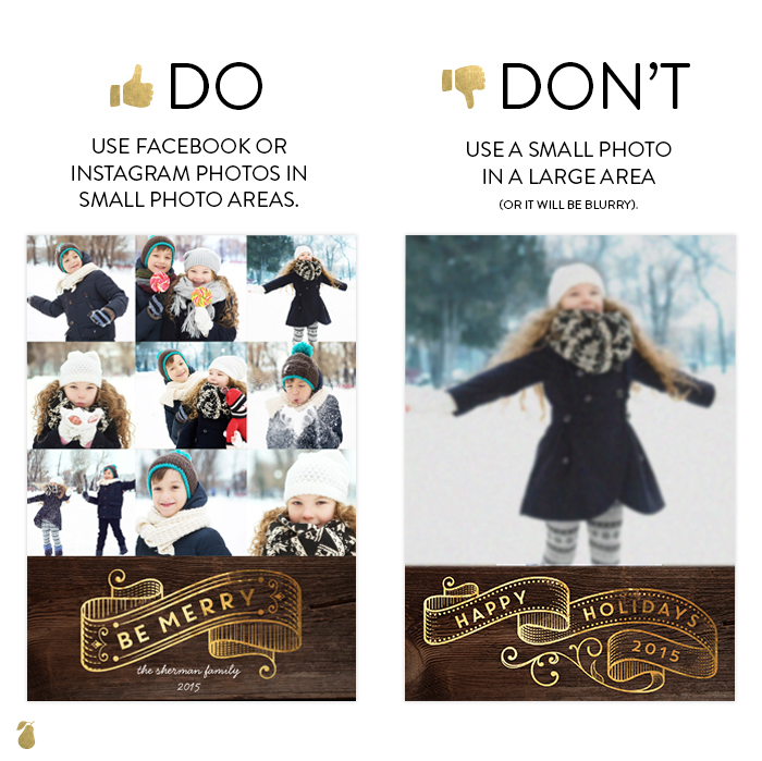 Dos and Don'ts of Christmas Cards #2