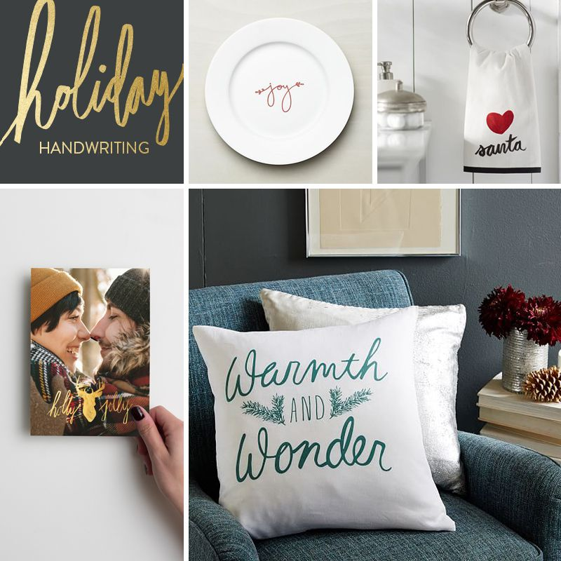 design trends in christmas cards