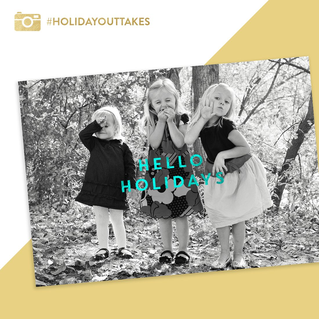 Hello Holidays Christmas Cards