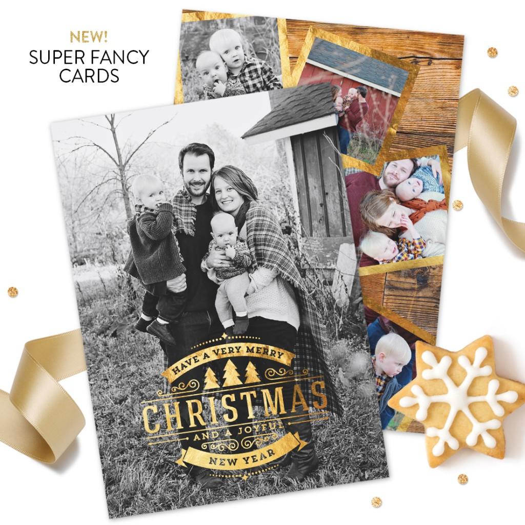 Ornate Greeting Premium Christmas Card