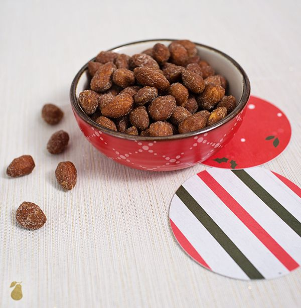 Holiday Food Ideas - Roasted Cinnamon Almonds