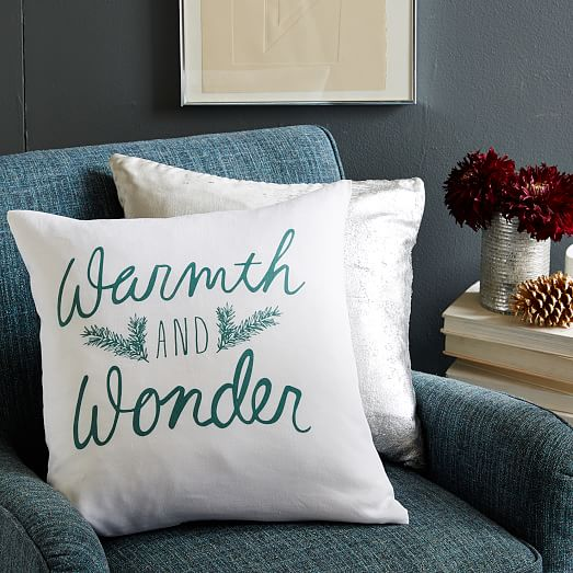 Warmth and Wonder Pillow Cover