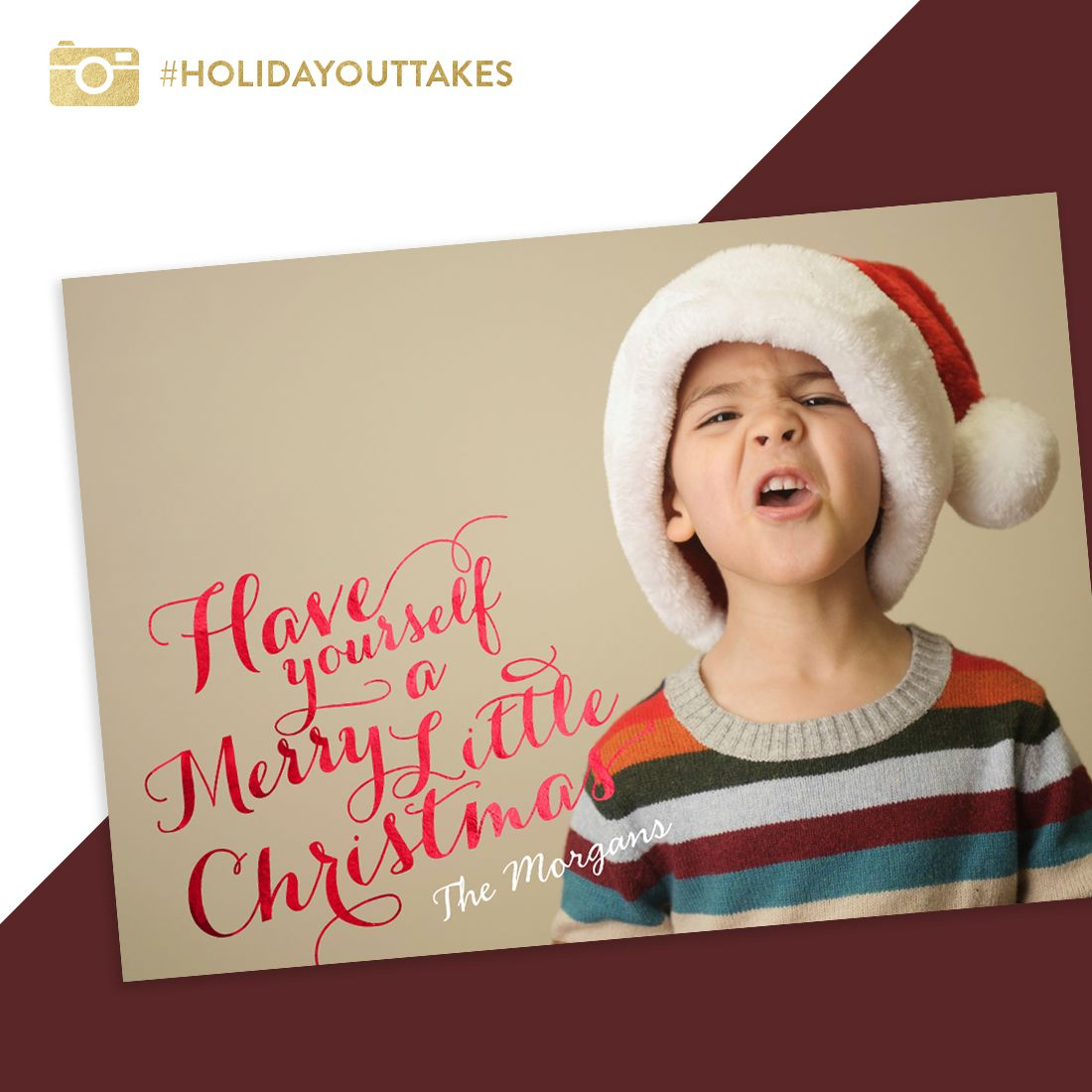 Christmas Cards - Merry Little Photos