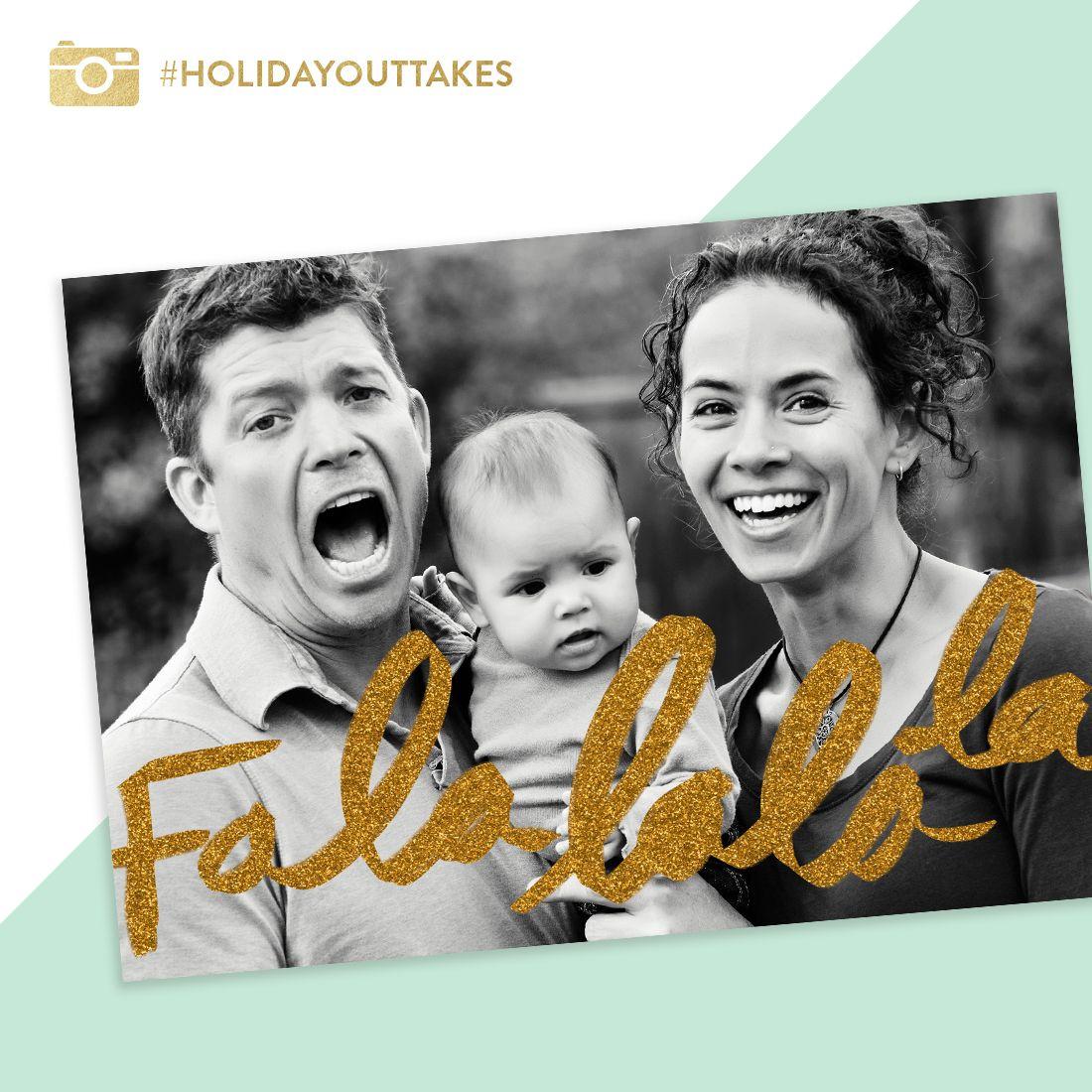 Christmas Cards - Fa La La Foil