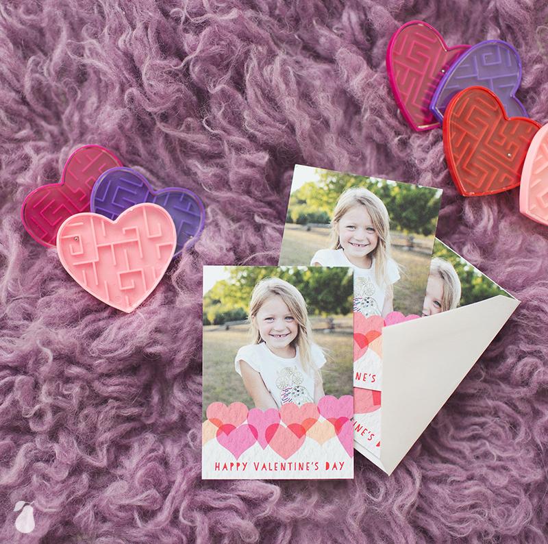 Textured Hearts Classroom Valentines