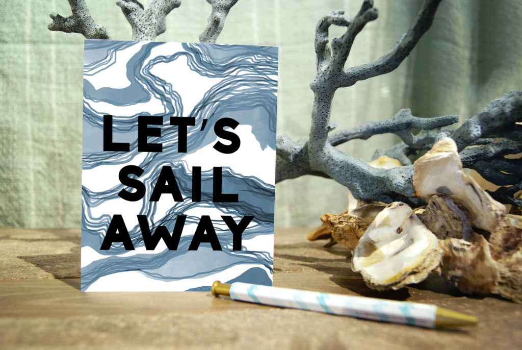 Stationery Sail Away