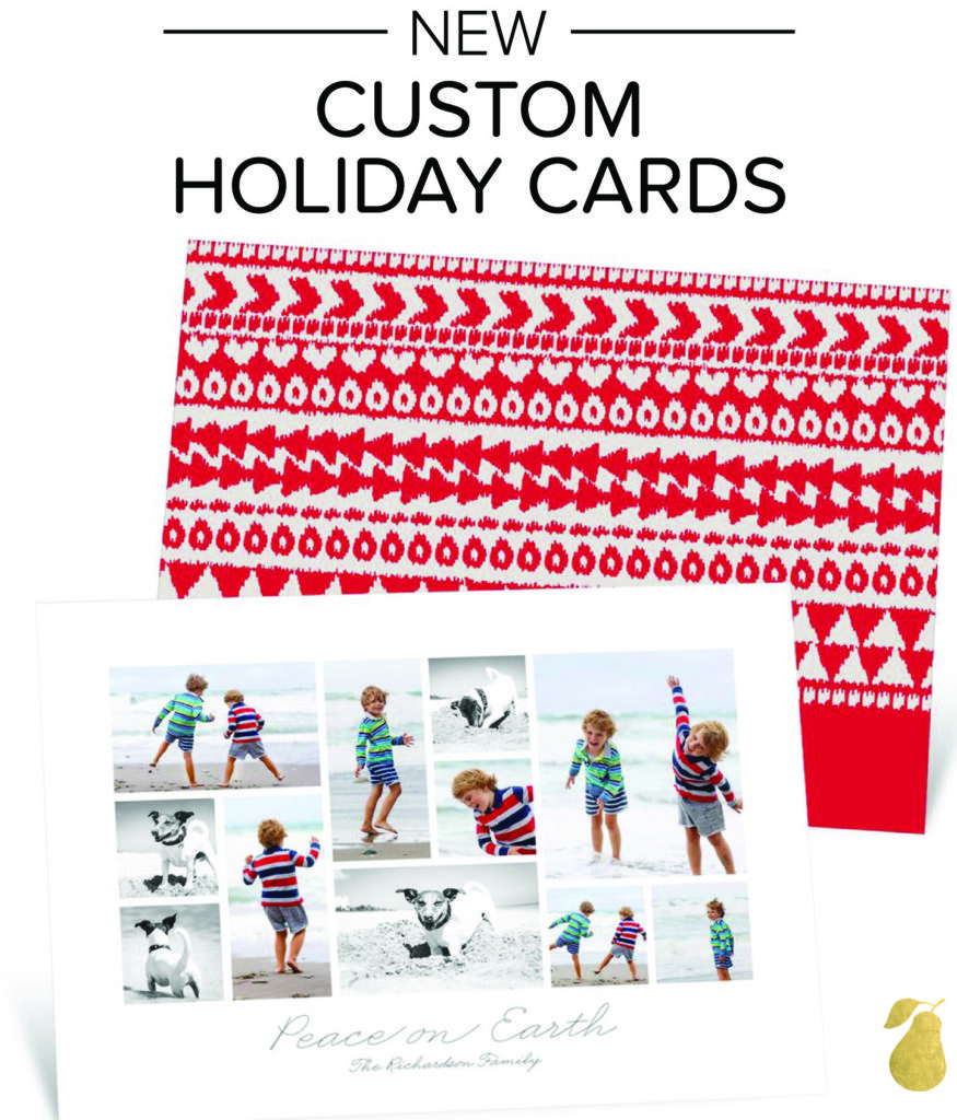Custom Holiday Cards - Christmas Sweater