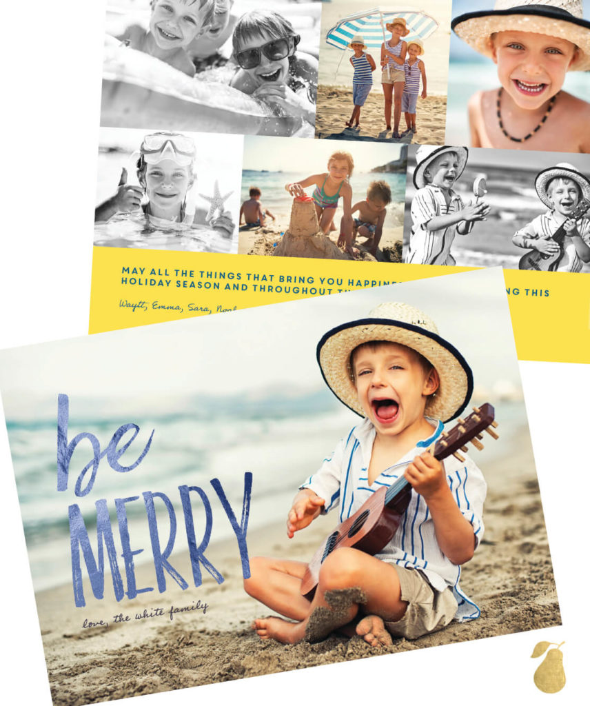 Be Happy -- Christmas Cards