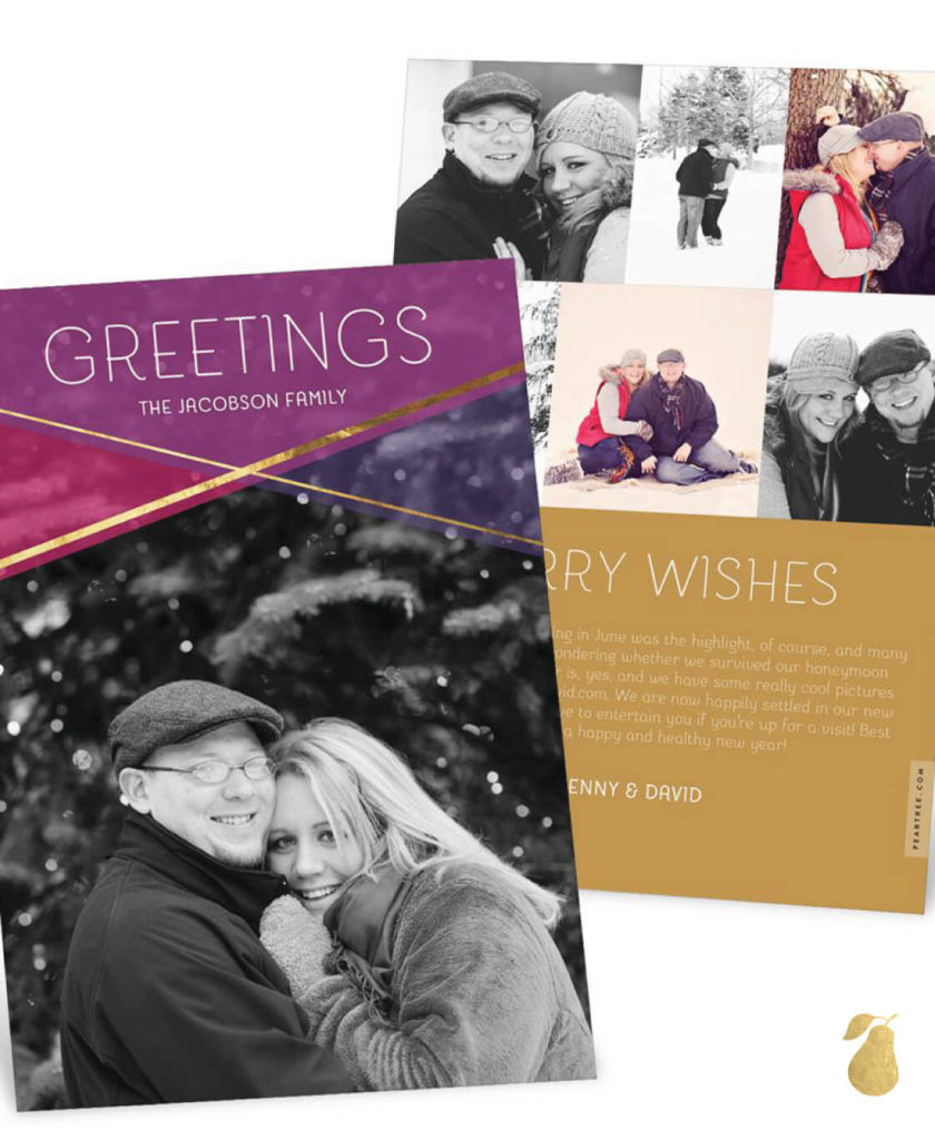 Layered Love -- Christmas Cards
