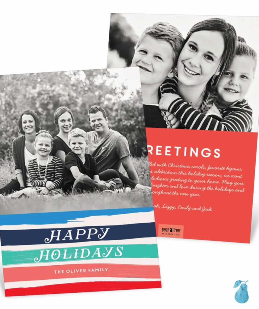New Colors -- Christmas Cards
