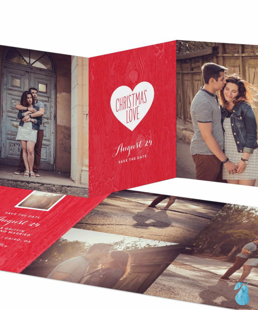 Full Hearts -- Save The Date Cards