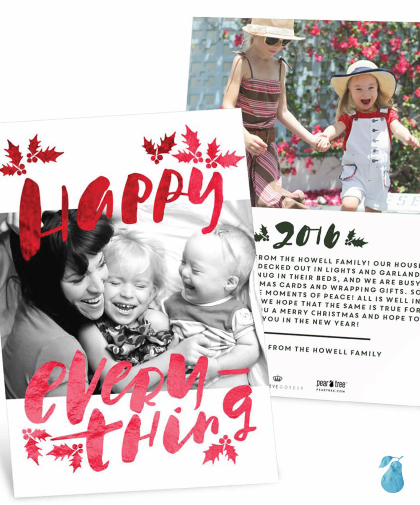 Happy Everything -- Christmas Cards