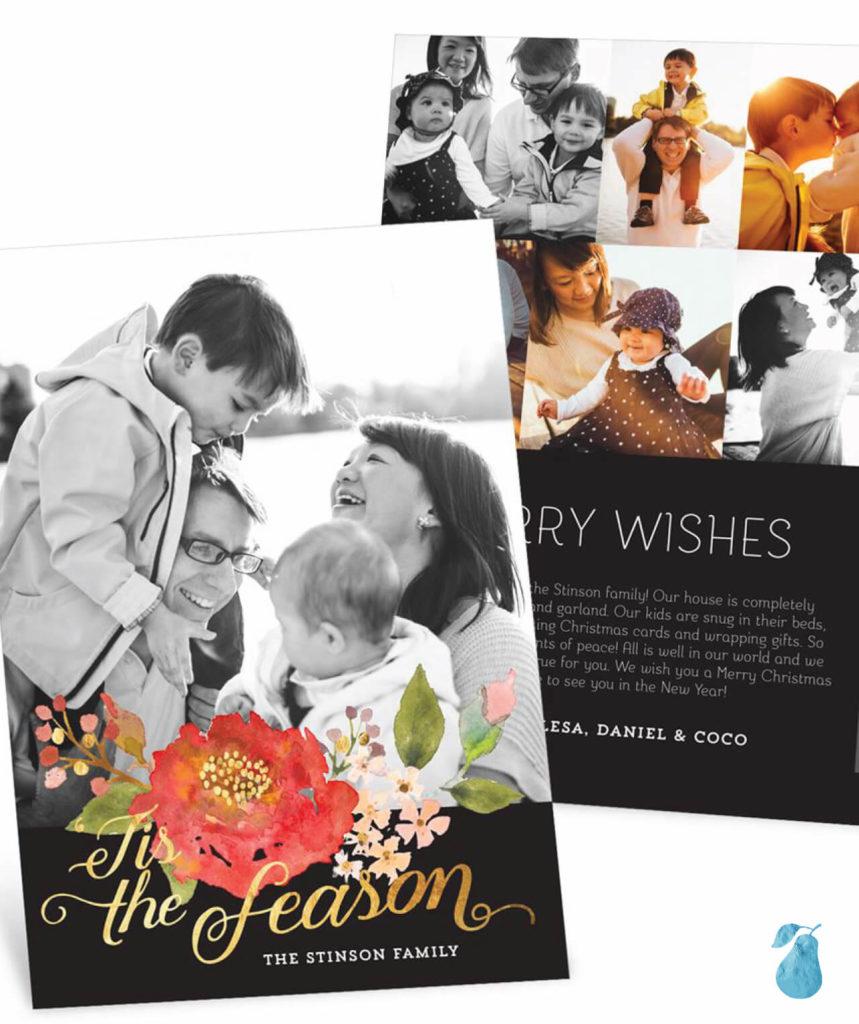 Blooming Season -- Christmas Cards