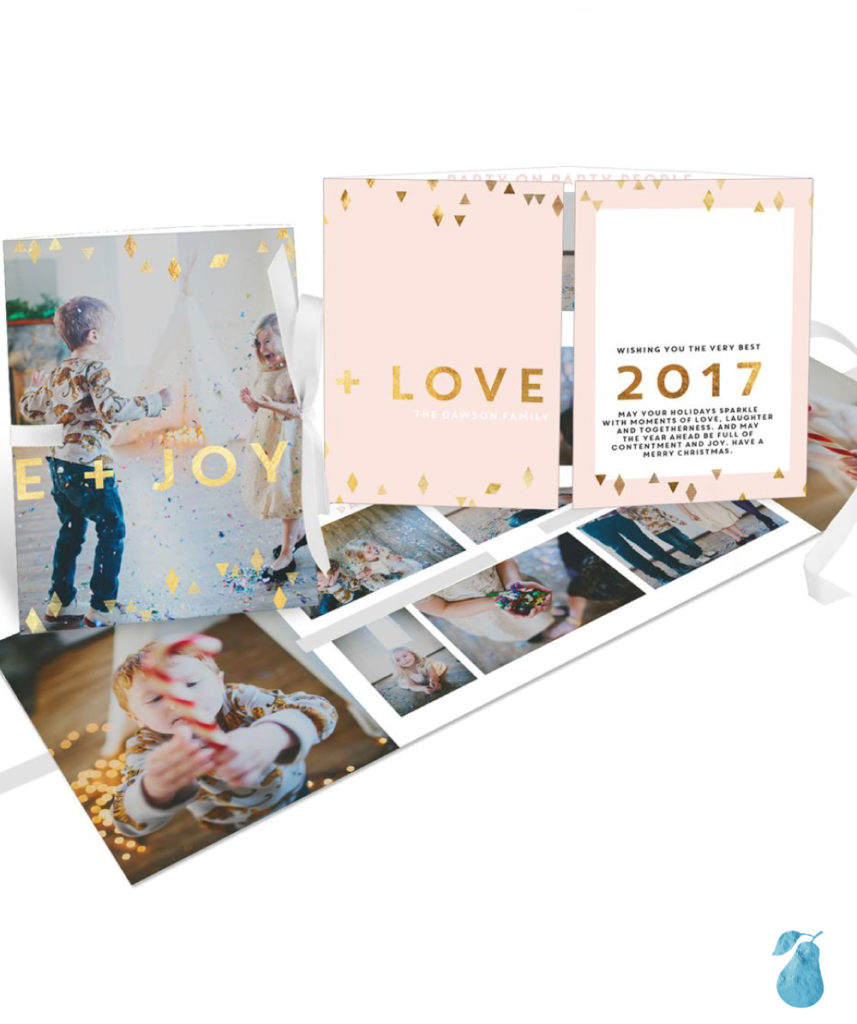 Peace Joy Love Ribbon Booklet
