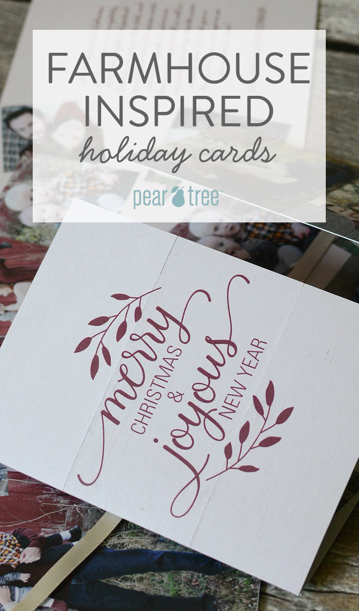 What to Send this Season: Farmhouse-Inspired Holiday Cards | Pear ...