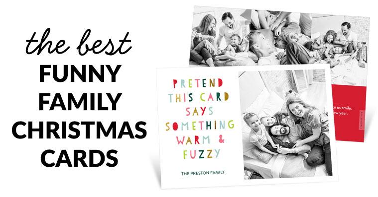 Funny Christmas 2020 Card Sayings Funny Family Christmas Cards | Pear Tree Blog