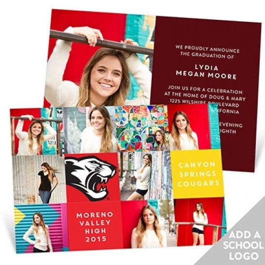 Graduation Announcements for Girls