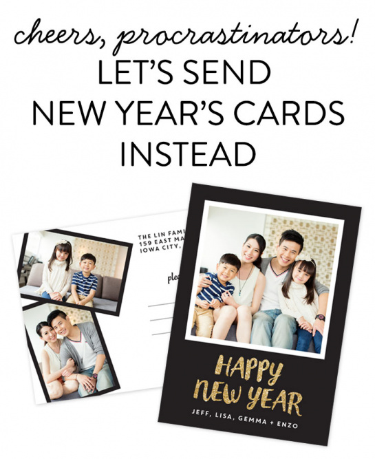 lets send new years cards instead