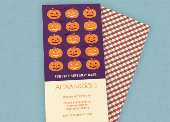Halloween Birthday Ideas